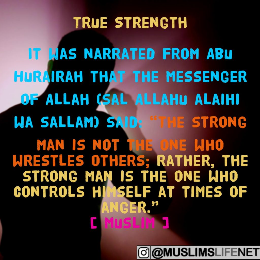 Hadith about True Strength
