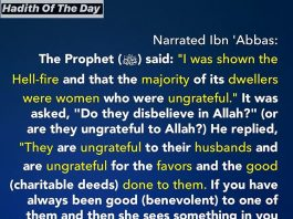 Hadith About Hellfire dwellers